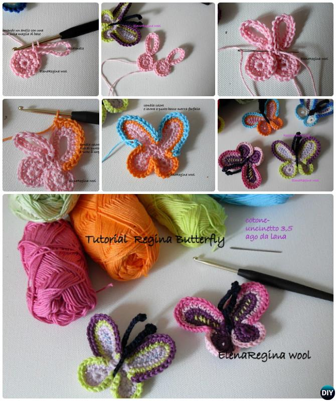Crochet Queen Butterfly Free Pattern