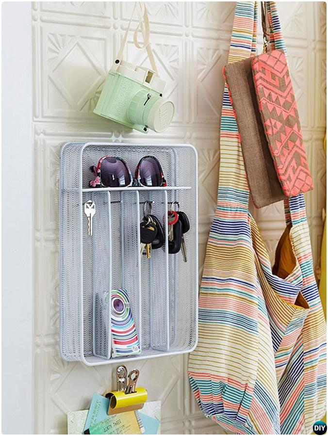 Cutlery Tray Entryway Key Accessory Organizer -16 Cutlery Tray Home Organization Ideas