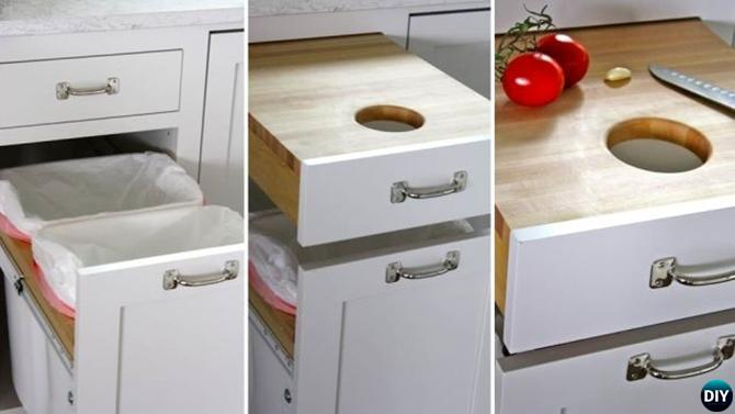 Small Kitchen Cupboard Organization