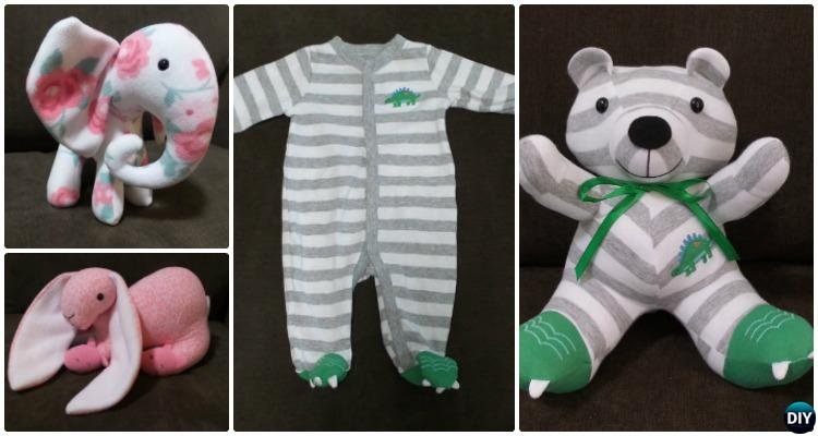 DIY Baby Onesie Memory Bear Keepsake Bear Pattern
