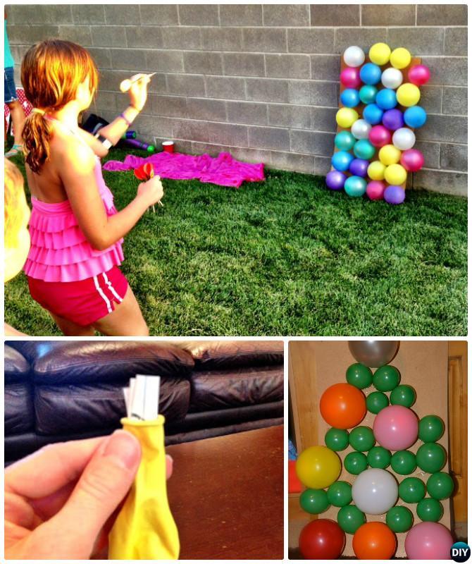 Diy Balloon Dart Board 20 Diy Summer Outdoor Games For Kids Adults
