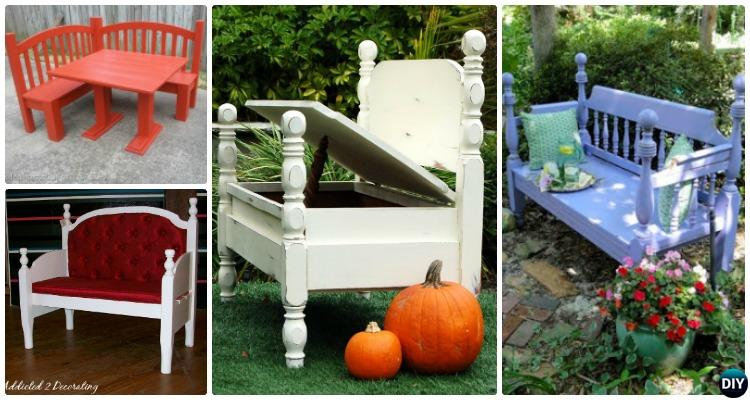 Pleasant 8 Diy Bed Frame Garden Bench Projects Picture Instructions Pdpeps Interior Chair Design Pdpepsorg