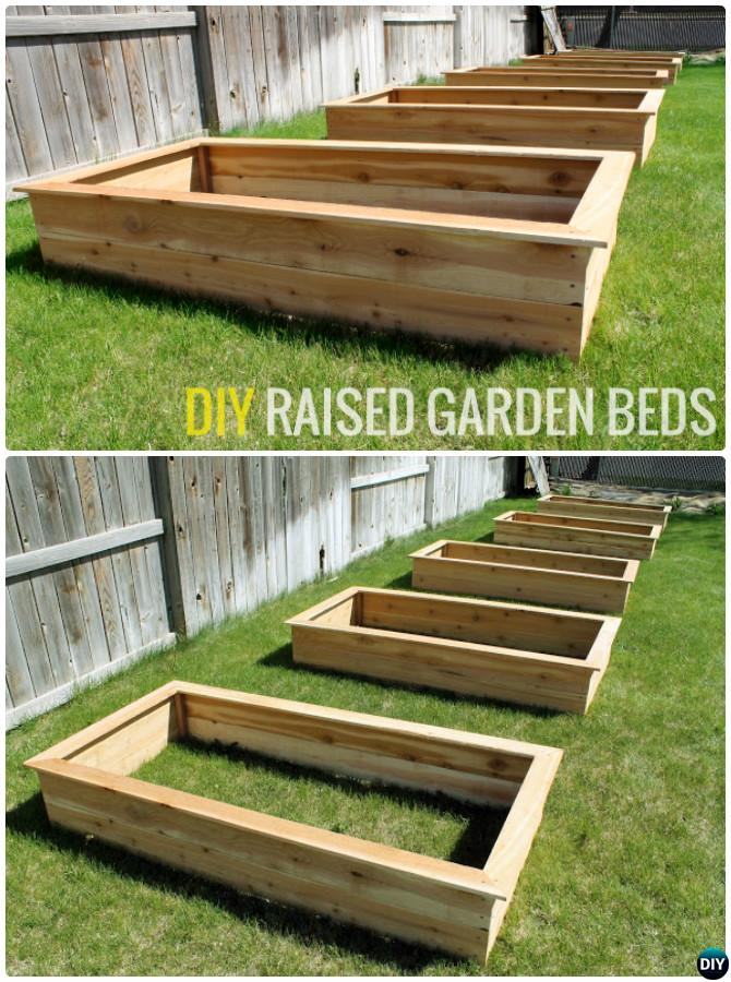 DIY Raised Garden Bed Idea