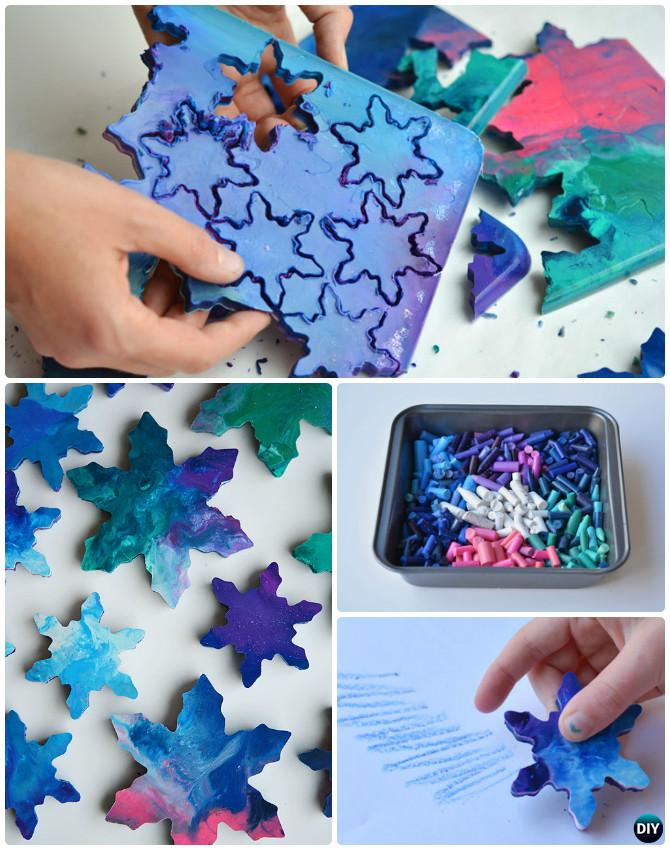 DIY Cookie Cutter Crayon Instruction-16 Cookie Cutter Craft Ideas