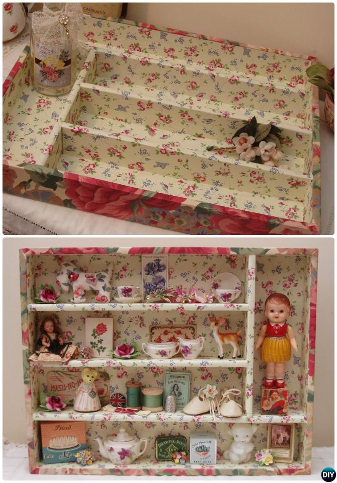 DIY Cutlery Tray Doll House Instruction-16 Cutlery Tray Home Organization Ideas