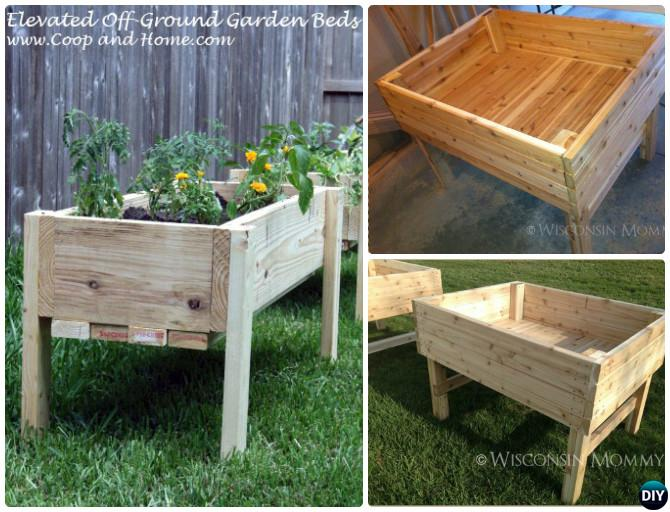 DIY Elevated Raised Garden Bed 20 DIY Raised Garden Bed Ideas Instructions