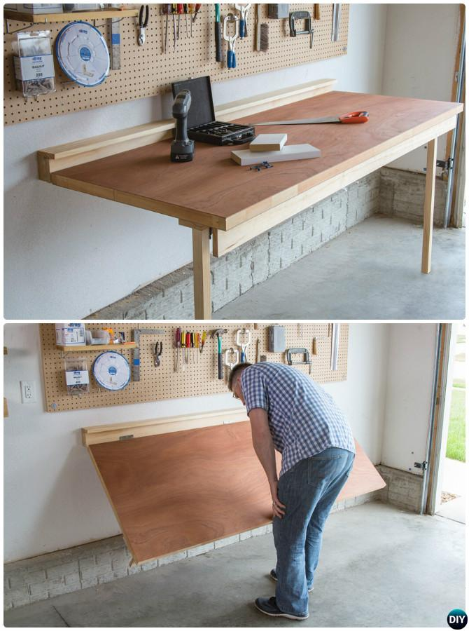 diy garage workbench ideas - Garage Organization and Storage DIY Ideas Projects