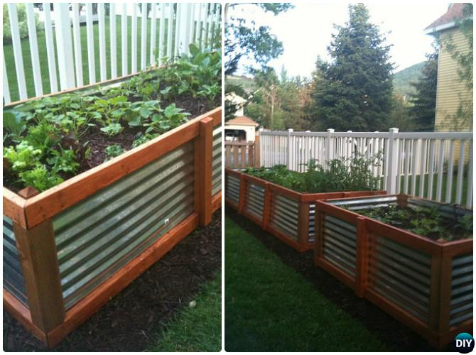 Garden Beds Ideas garden bed edging ideas woohome 22 Diy Galvanized Steel Raised Garden Bed 20 Diy Raised Garden Bed Ideas Instructions