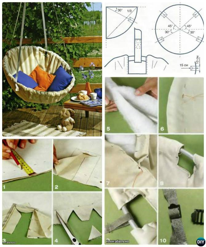 DIY Hammock Chair-10 DIY Hammock Projects Instructions