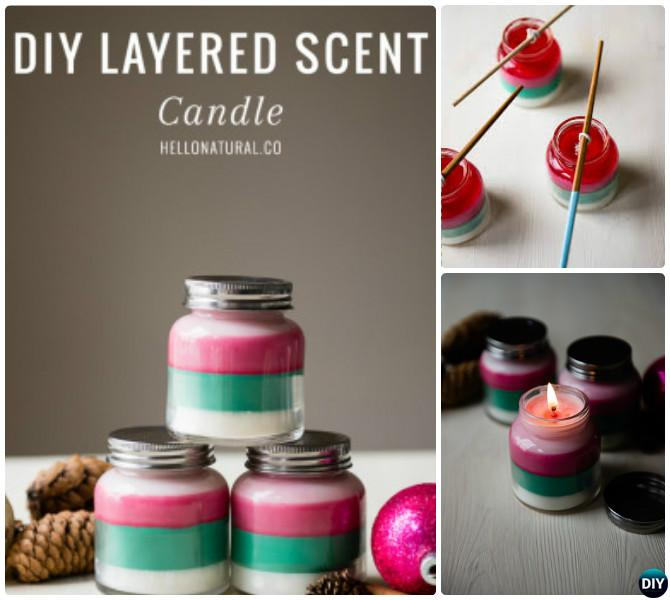 DIY Layered Scent Crayon Candle Instruction-Crayon Candle Ideas