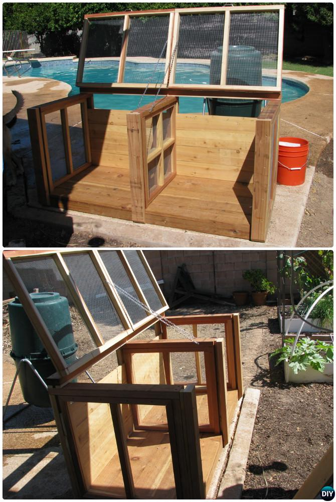 DIY Lumber Compost Bin Instruction-12 Simple DIY Compost Bin Projects