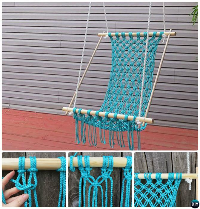 Diy Macrame Hammock Chair 10 Diy Hammock Projects Instructions