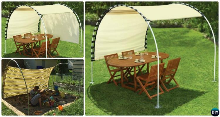 & DIY Outdoor PVC Canopy Projects [Picture Instructions]