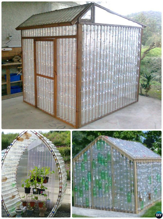 DIY Plastic Bottle Greenhouse Free Plan-18 DIY Green House Projects Instructions