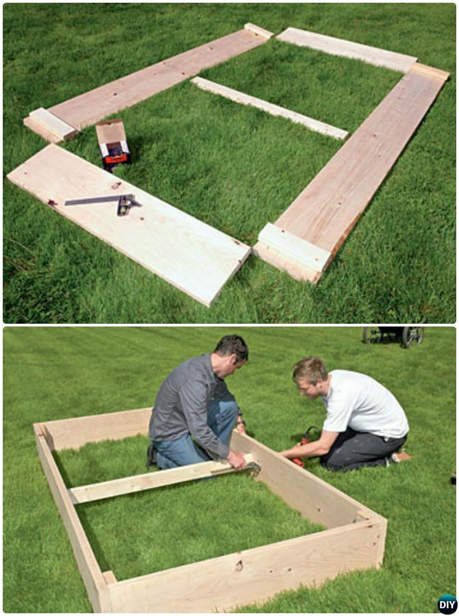 Do It Yourself Home Design: DIY Raised Garden Bed Ideas Instructions [Free Plans]