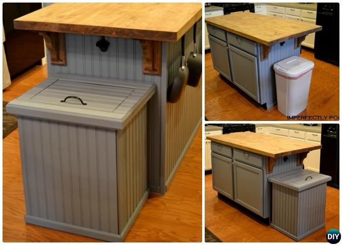DIY Trash Can Cover Smart Ways To Hide Your Trash Can