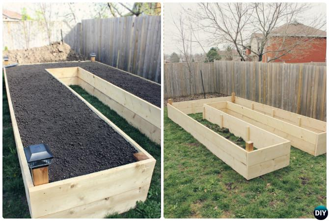 beds against diy a raised garden build bed youtube fence watch