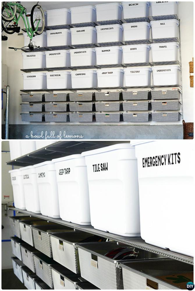 Garage Organization And Storage Diy Ideas Projects