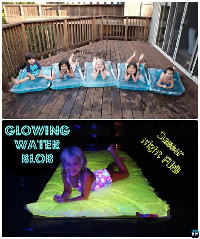 DIY Water Blob-20 DIY Summer Outdoor Games For Kids Adults
