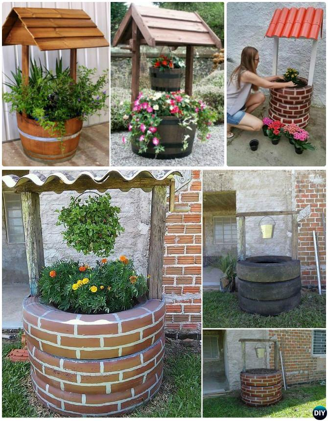 diy recycled tire planter ideas for your garden. Black Bedroom Furniture Sets. Home Design Ideas