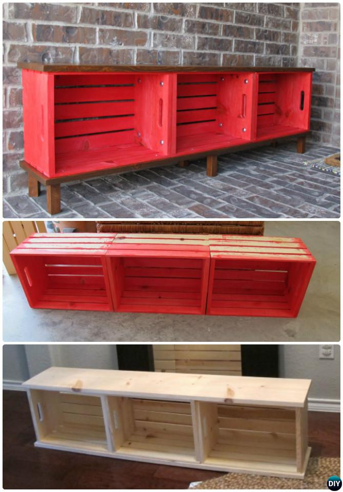 Foyer Bench Diy : Best entryway bench diy ideas projects picture