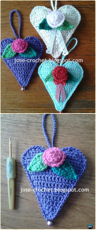 Crochet Flower Pillow Pattern