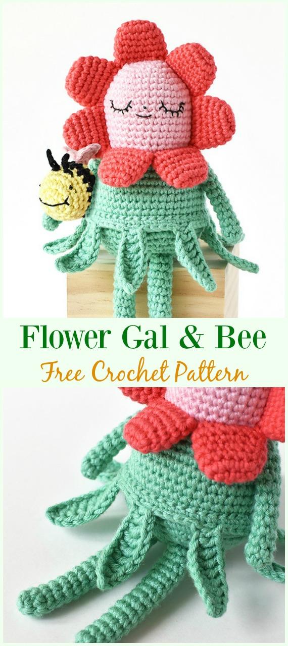 Crochet BB Dolls Amigurumi Free Pattern - #Crochet, #Doll Toys ... | 1280x570