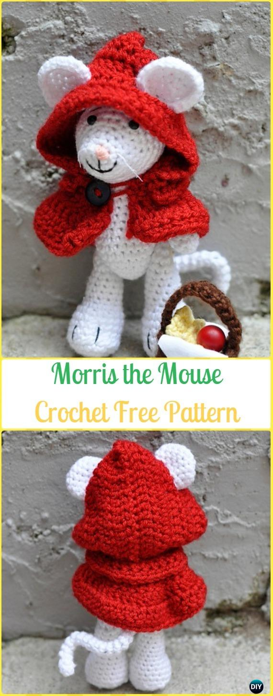 Free Mini Mouse Crochet Patterns | 1450x570