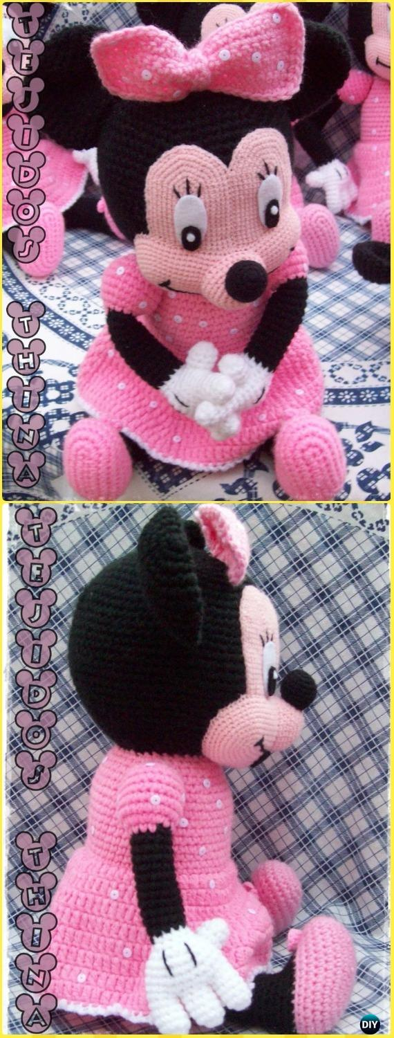 Amigurumi Crochet Mouse Toy Softies Free Patterns