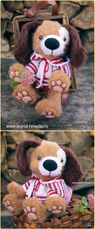 Crochet Amigurumi Furry Puppy Bim Free Pattern - Amigurumi Puppy Dog Stuffed Toy Patterns