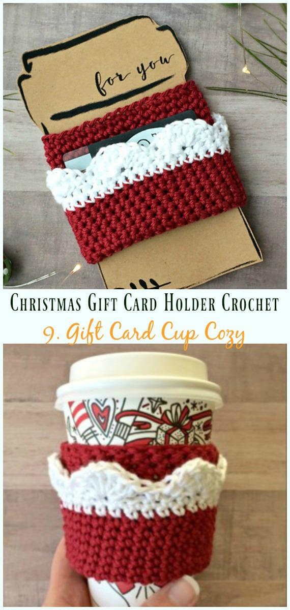 Christmas Gift Card Holder Crochet Free Patterns Diy Instructions