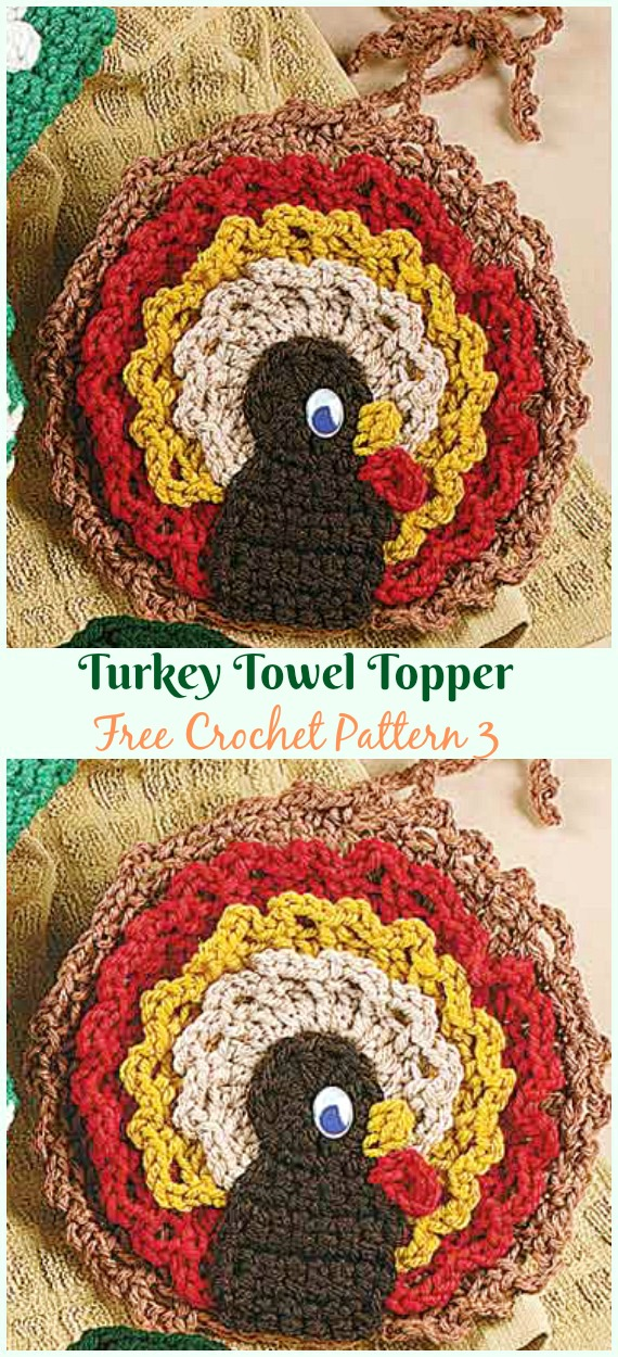 Christmas Towel Topper Crochet Free Patterns