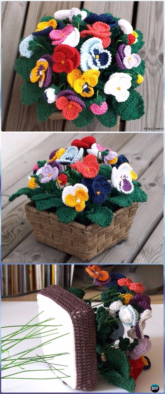 Sunflower Crochet Blanket Projects
