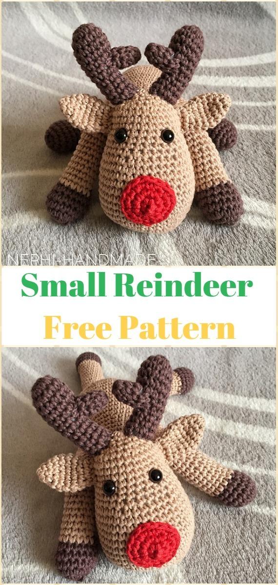 Nyasha the deer crochet pattern | Amiguroom Toys | 1200x570