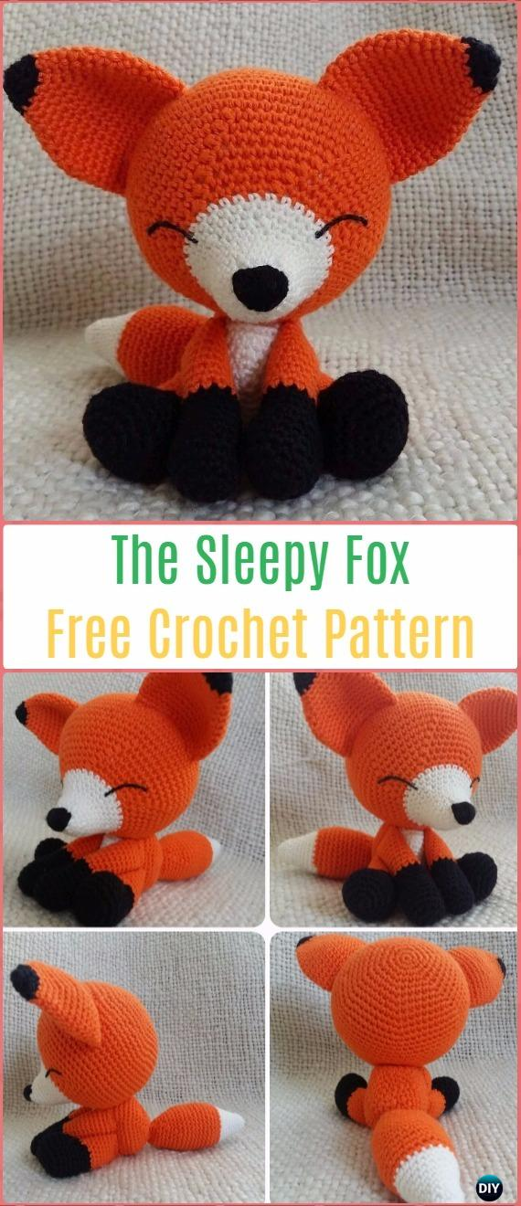 Crochet Amigurumi Fox Free Patterns Tutorials