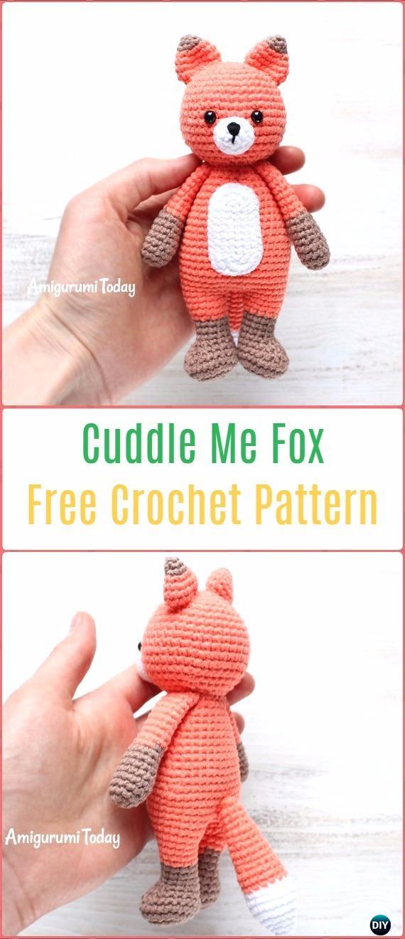 Red Fox Amigurumi Crochet | Craft Designs by Eve Leder | 1320x570