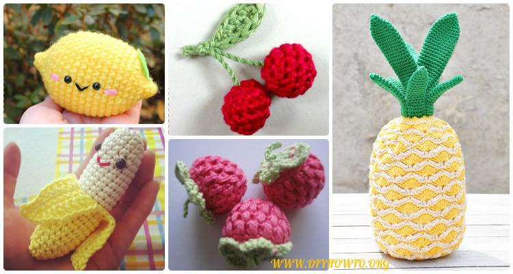 Crochet Amigurumi Fruits Free Patterns