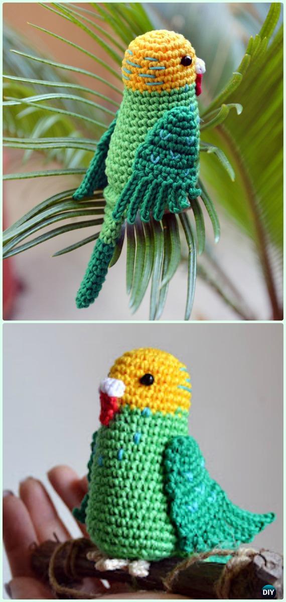 Crochet Amigurumi Garden Animal Toys Free Patterns
