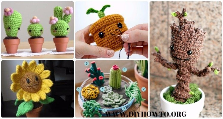 Crochet Amigurumi Plant Free Patterns Stunning Crochet Cactus Free Pattern