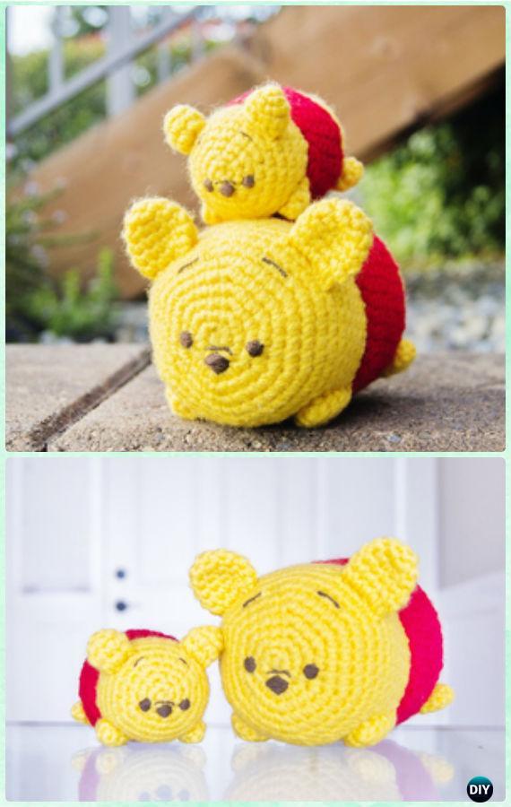 Crochet Amigurumi Eeyore : Crochet Amigurumi Winnie The Pooh Free Patterns