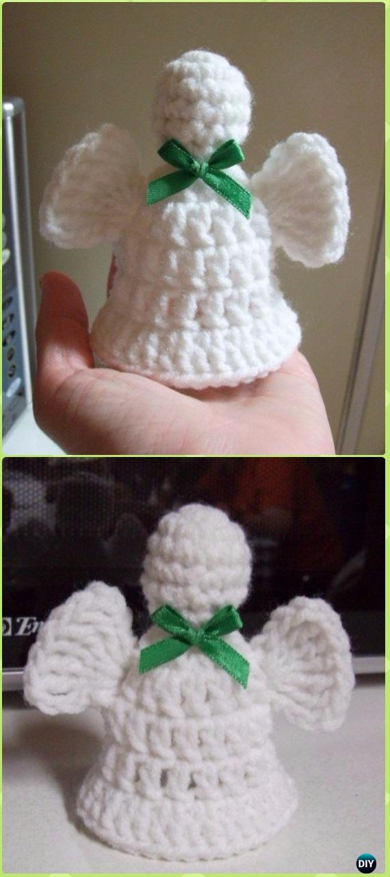 Crochet Bell Angel Free Pattern - Crochet Angel Free Patterns