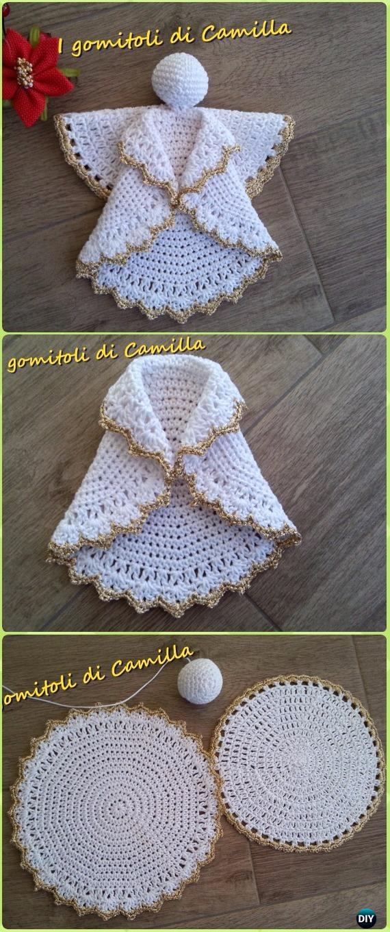 Crochet Angel Free Patterns Tutorials Beauteous Angel Pattern