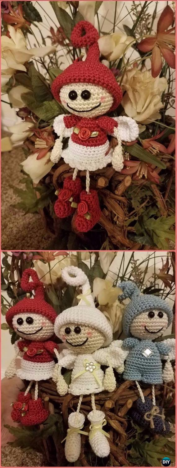 Angelo Amigurumi Tutorial Natale 👼🏻 Angel Crochet Christmas ... | 1500x570