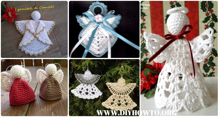 Crochet Angel Free Patterns Tutorials Adorable Angel Pattern