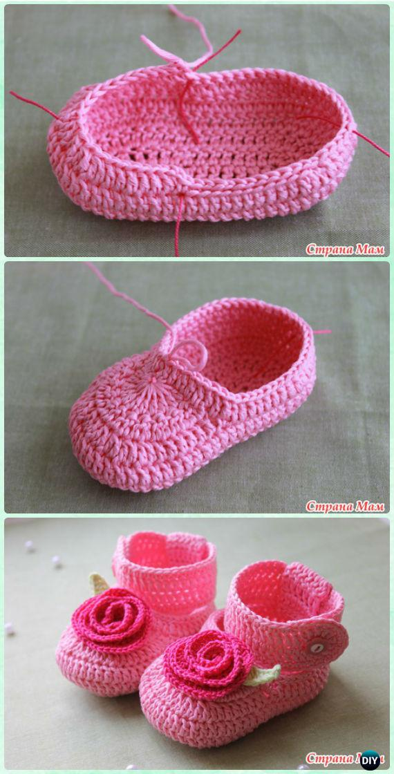 Crochet Baby Booties Pattern Step By Step Pattern Design Impressive Crochet Baby Booties Pattern Step By Step