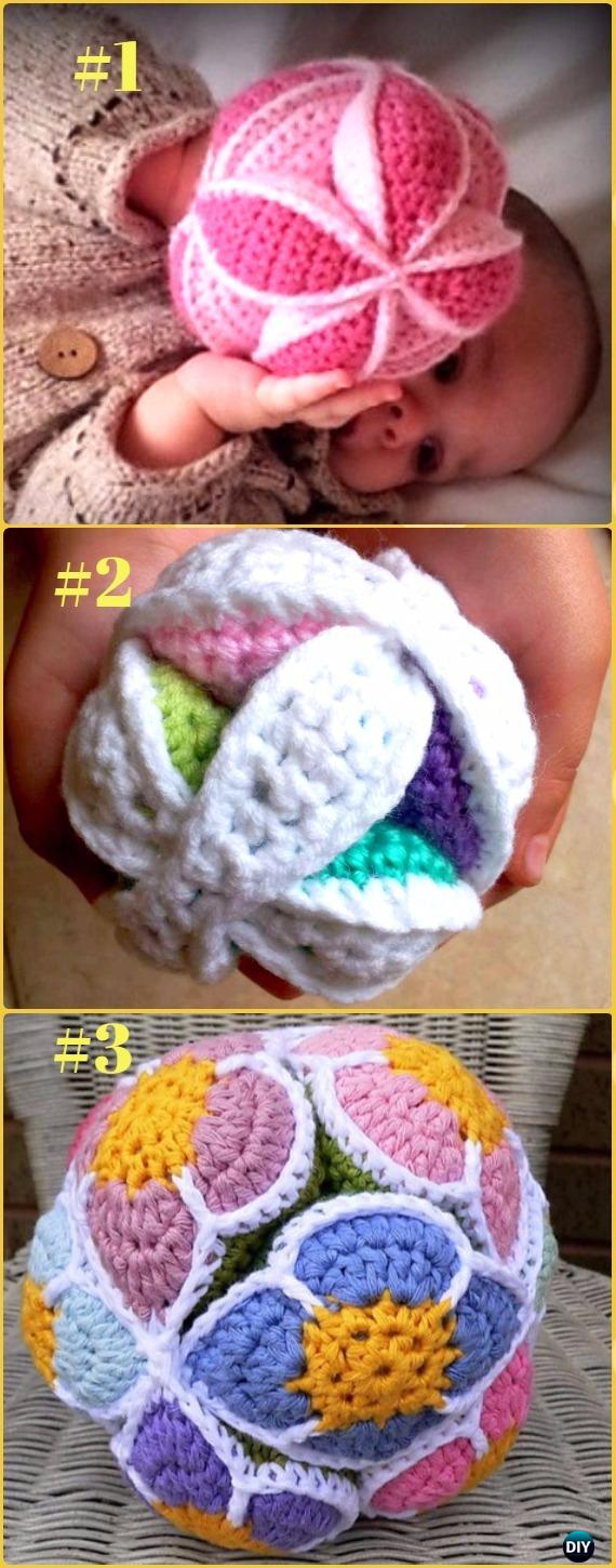 Crochet Amish Puzzle Ball Free Patterns - Crochet Baby Shower Gift Ideas Free Patterns