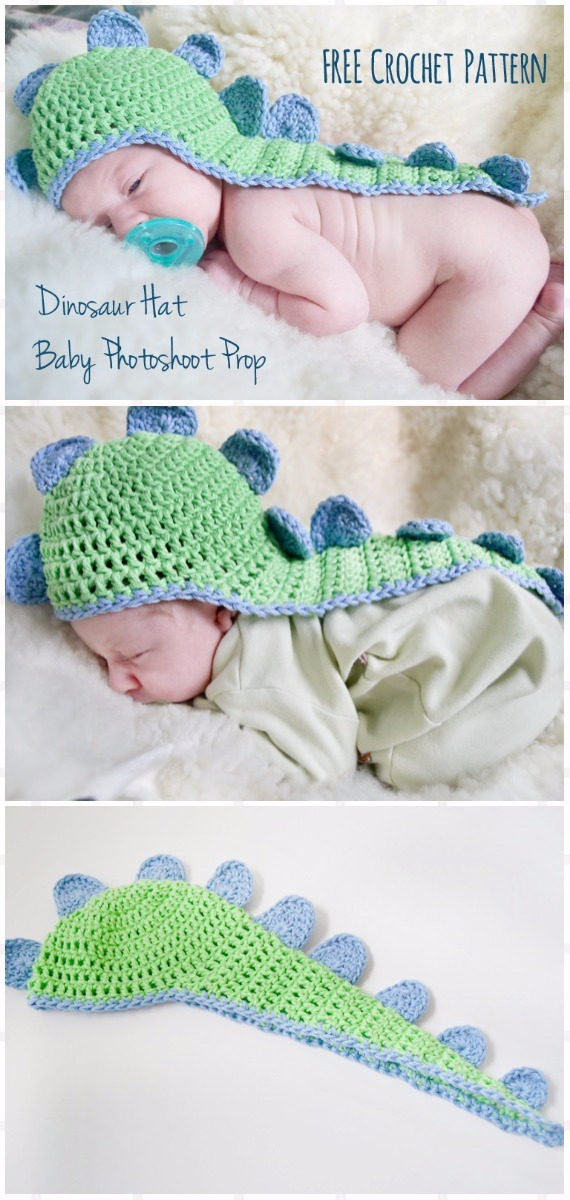 Crochet Baby Dino Hat With Cape Free Pattern Crochet Baby Shower