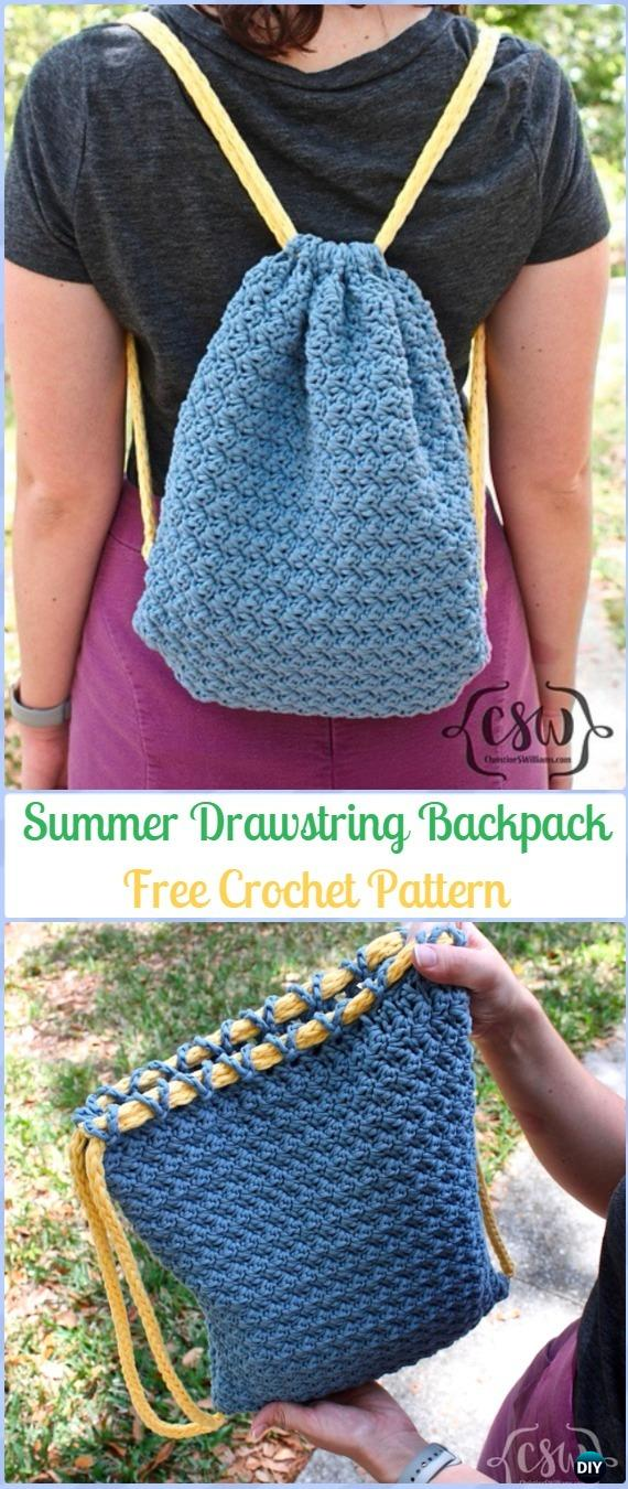 Crochet Backpack Free Patterns For Big Kidsadults