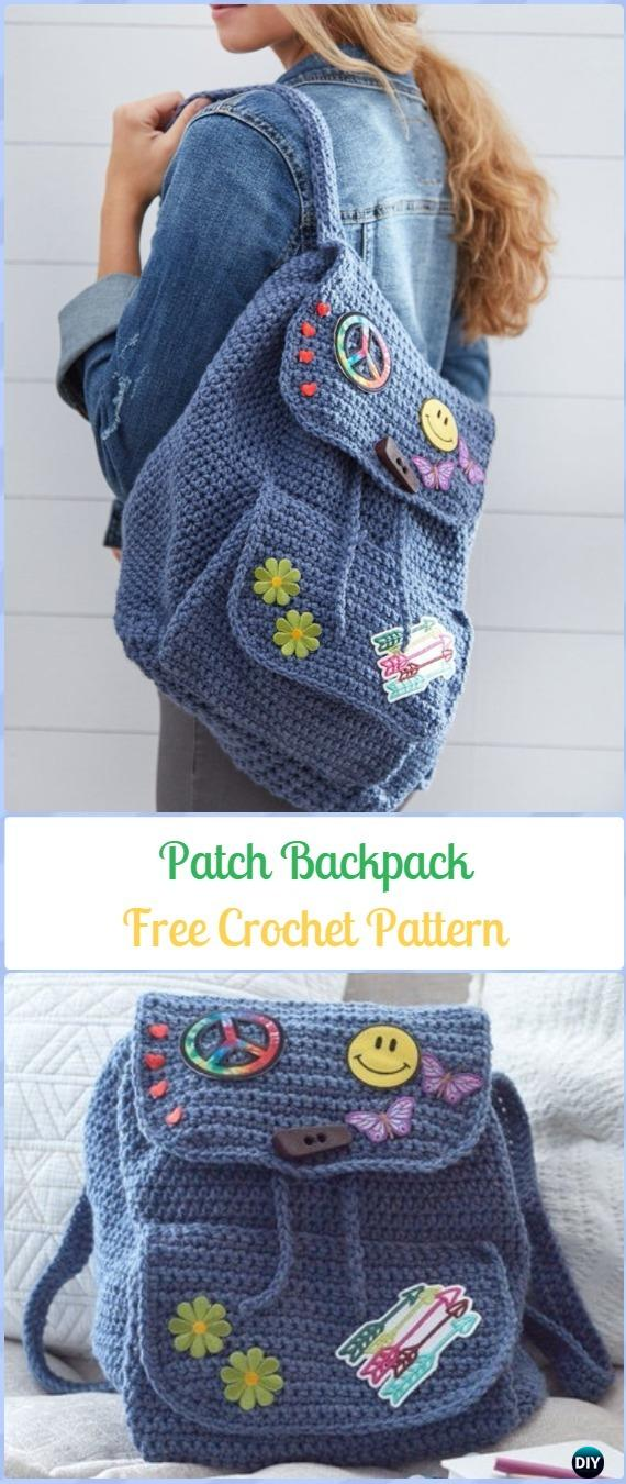 Crochet Backpack Free Patterns For Big Kids Amp Adults