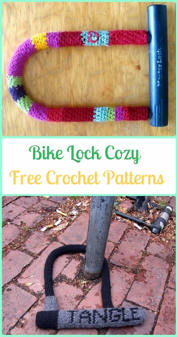 Crochet Bike Lock Cozy Free Patterns - Crochet Bicycle Fashion Patterns